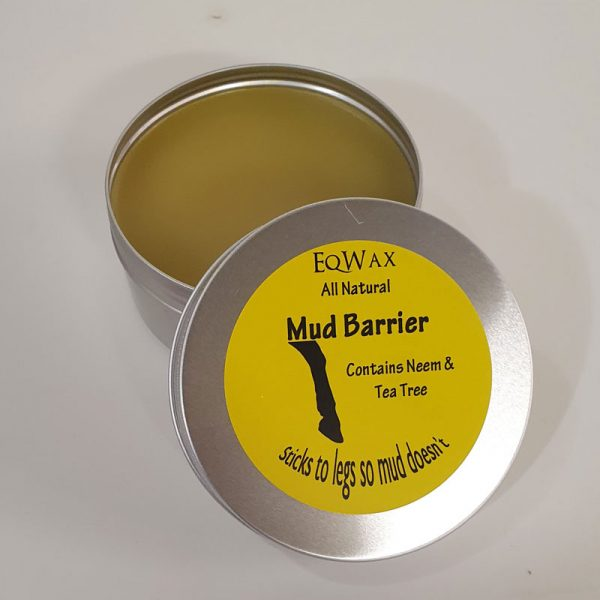 Plastic-Free Natural Mud Barrier Balm for Horses