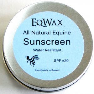 Natural Sunscreens for Horses
