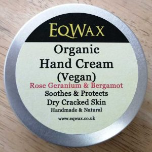 organic vegan hand cream