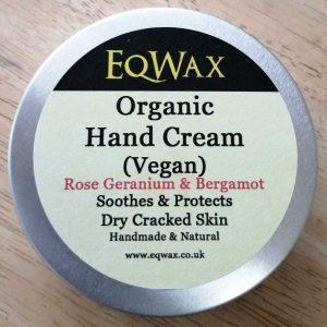 organic vegan hand cream