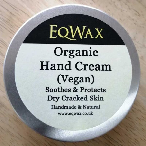 organic vegan hand cream - plastic-free