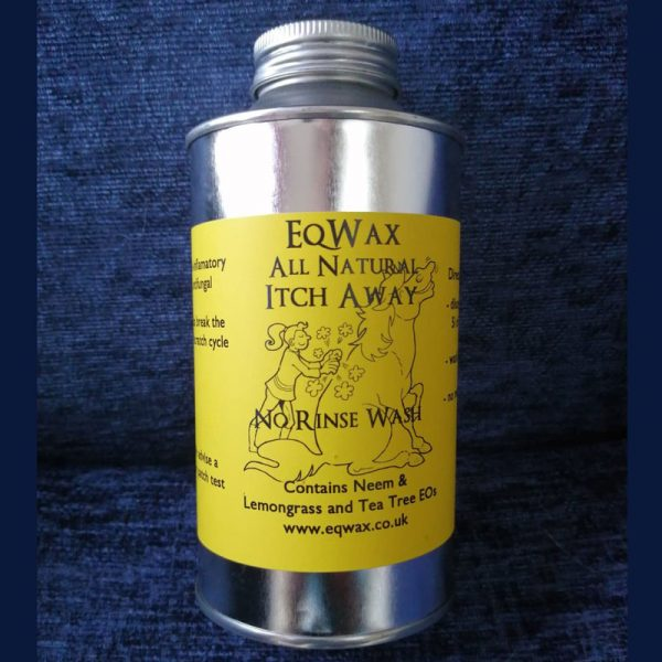 Itch Away No Rinse Wash For Horses - Natural, Plant-based & Plastic Free