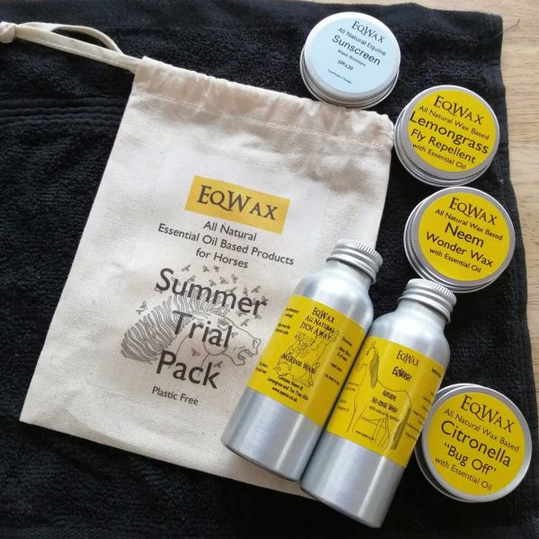 EqWax Summer Trial Pack - Plastic Free Horse Care