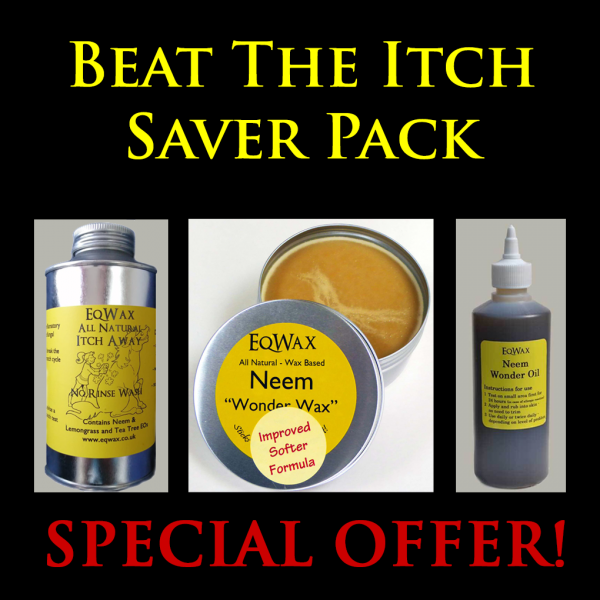 Beat The Itch Saver Pack - Natural Itch Remedies for Horses