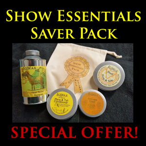 Show Essentials Saver Pack - Natural plastic-free horse grooming products for the show ring